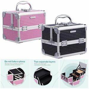 Professional-Small-Vanity-Case-Make-Up-Beauty-Box-Cosmetics-Nail-Storage-Gift