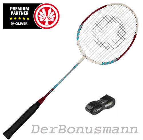 # OLIVER Badmintonschläger FUSION mit Fullbag und Bonus *RESTPOSTEN*