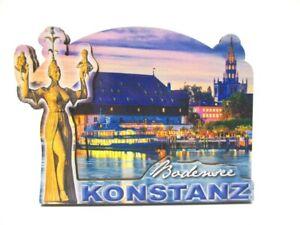 Konstanz-Bodensee-Holz-2D-Magnet-10-cm-Souvenir-Germany