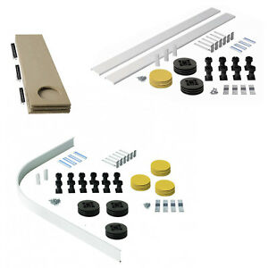 Facile Plumb Riser Kit pieds jambes pour bac douche Boîtier Carré Rectangle Pierre-afficher le titre d`origine JNldri4w-07183652-754169074