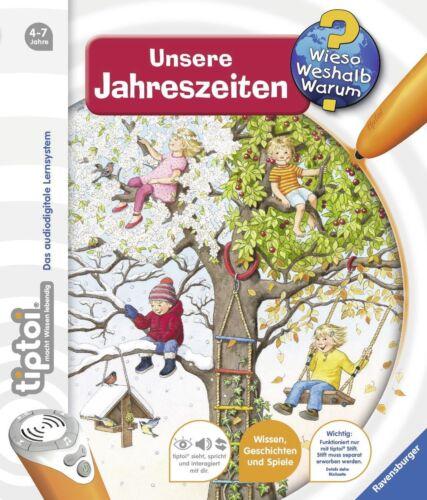 Unsere Jahreszeiten Neu ** ** RAVENSBURGER tiptoi® Buch
