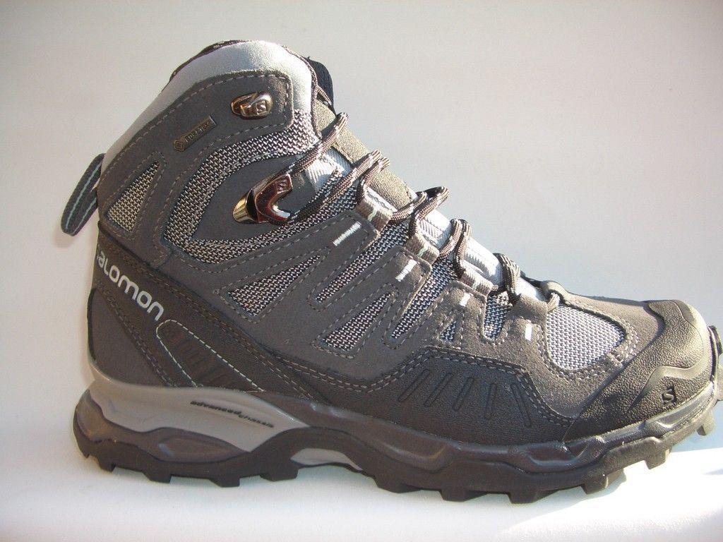 Salomon conquest gtx femmes gris 361908 trekking Bottes Goretex  prix recomhommedé 159,95