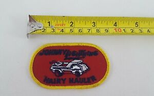 JOHNNY-LIGHTNING-HAIRY-HAULER-EMBROIDERED-PATCH