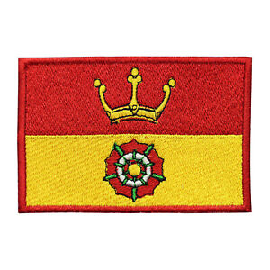 Hampshire County Flag Patch Iron On Patch Sew On Embroidered Patch