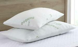 Bamboo-Shredded-Memory-Foam-Pillow-with-Hypoallergenic-Bamboo-Cover-Queen-Size