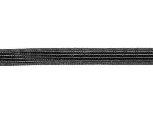 Hats Garments Craft Clearance 45 metres × 8mm Black Rigiline// Polyester Boning