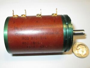 Precision Potentiometer 10K Ohm 5/% 10Turn Superior Stop Strength Rugged Spectrol