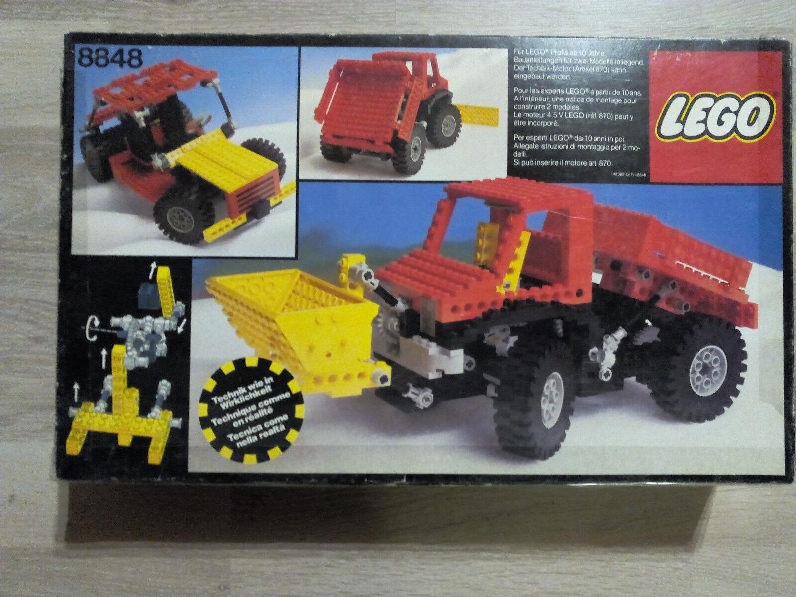 Lego Technic Technik 8848 Power Truck   GUTER ZUSTAND - RARITÄT
