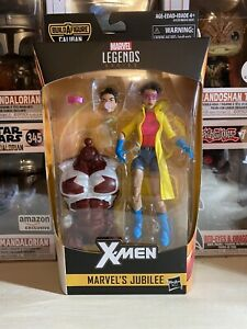 2018-HASBRO-MARVEL-LEGENDS-6-034-X-MEN-JUBILEE-ACTION-FIGURE-CALIBAN-BAF-SERIES-NEW