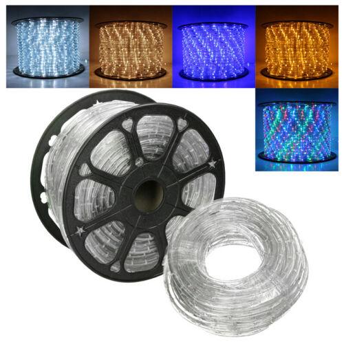 LED Lichterschlauch Innen Lampe Garten Dekor Lichterkette Lichtschlauch 2m-100m