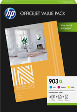 Artikelbild 3 HP Tinten 1CC20AE 903XL + 75 Blatt Papier 3-farbig
