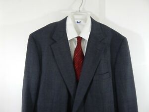 BROOKS-BROTHERS-jacket-blazer-sport-coat-100-wool-two-button-XLG-XL-48-48XLG