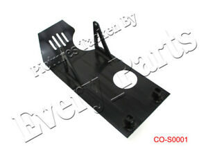 BBR Motorsports Skid Plate Black for Honda CRF50F XR50R Z50R