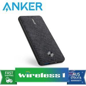 Anker PowerCore Slim 10000 Power Bank - Black Fabric
