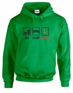 Eat-Sleep-League-Printed-Hoodie-Long-Sleeves-Sweatshirt-New-Fitness-Pullover