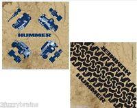 Hummer H1 H2 Sut H3 Logo All Terrain Rare Fully Licensed (2) Fabric Bandana Set