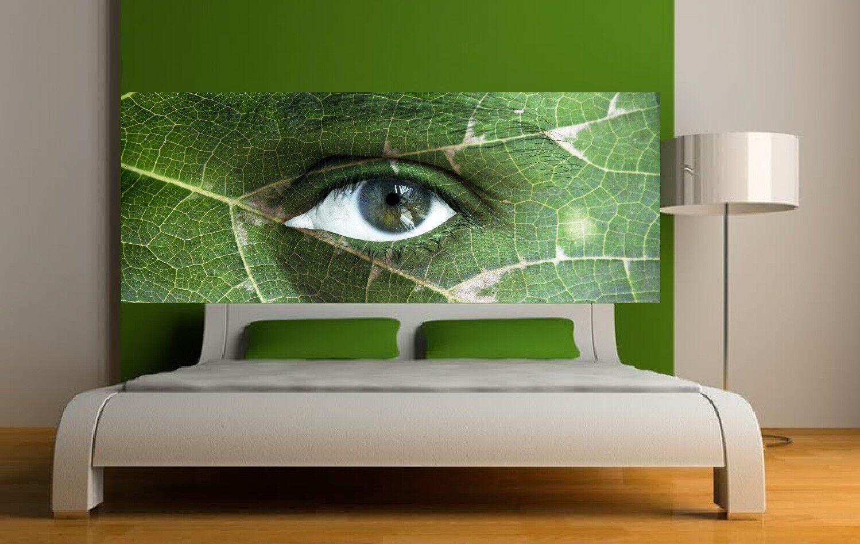 Papel pintado cabeza de colcha ojo naturaleza 3668 Arte decoración Pegatinas