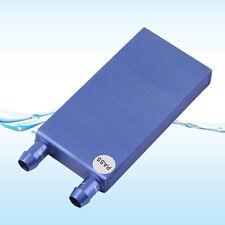 40*80*12mm Aluminium Water Cooling Heatsink Block Liquid Cooler For CPU GPU LE