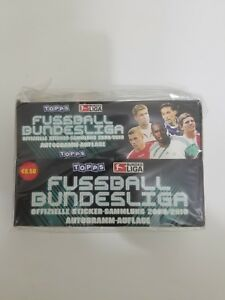 Details About 2009 10 Topps Bundesliga Stickers Box 100 Packs Sealed