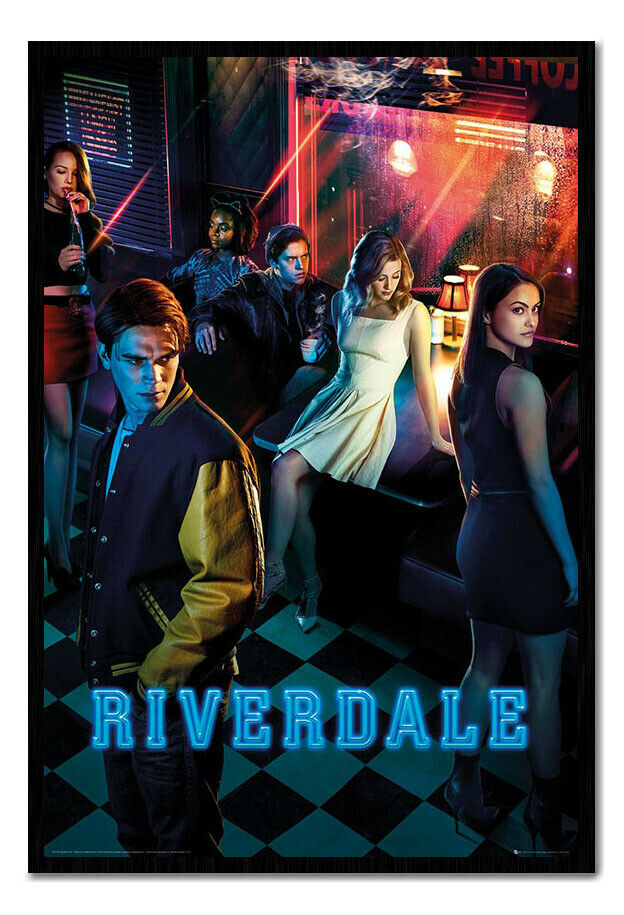 Riverdale Season One Framed Cork Pin Notice Board With Pins
