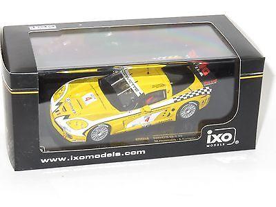 IXO 1//43 GTM059 CORVETTE C6-R #4 LONGIN KUMPEN HEZEMANS FIA-GT PAUL RICARD 2006