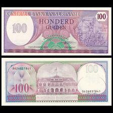 Suriname 100 Gulden 1985 UNC P 128 B