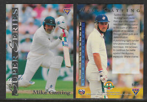 MIKE-GATTING-England-1994-FUTERA-ASHES-SUPER-SERIES-CRICKET-CARD-SS27
