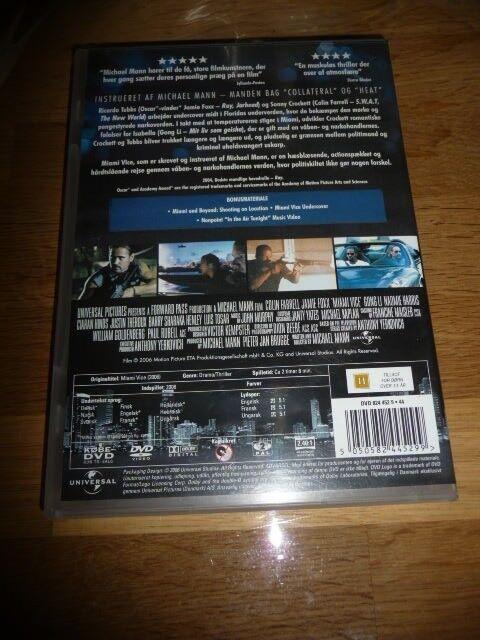 Miami vice, DVD, thriller