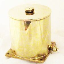 Large closed lid water tank for live steam from Pendle Steam Boilers