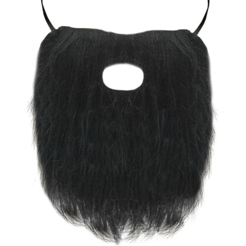 FACIAL HAIR FANCY DRESS BEARD MOUSTACHE EYEBROWS COSTUME ACCESSORY DISGUISE