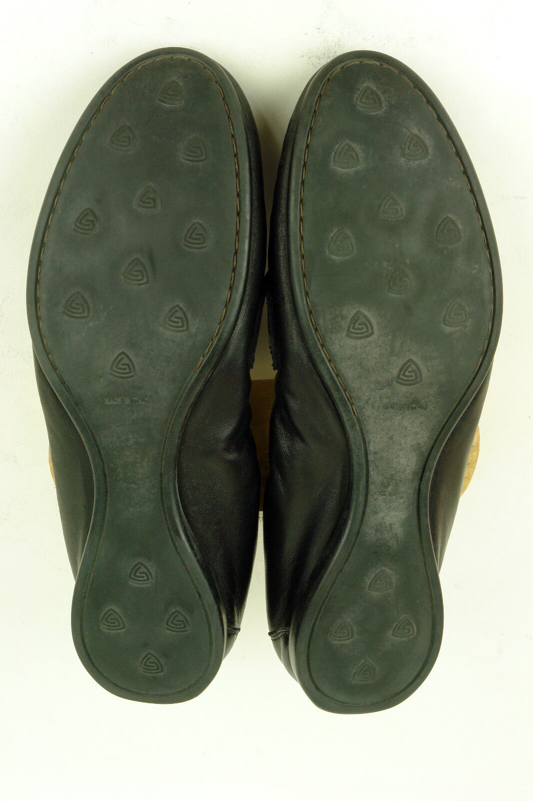 AGL / LUXURY IN LOAFER/DRIVER IN LUXURY BLACK NAPA & PATENT / 40.5 / SUPERB 14242e