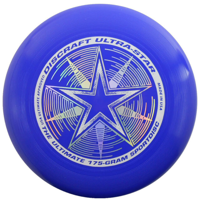 discraft ultra star 175g ultimate frisbee disc royal blue ebay