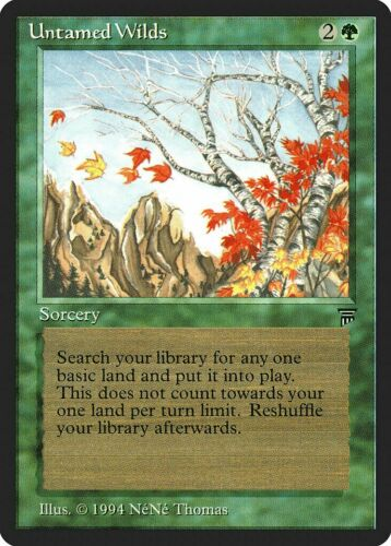 Untamed Wilds Legends NM-M Green Uncommon MAGIC THE GATHERING MTG CARD ABUGames