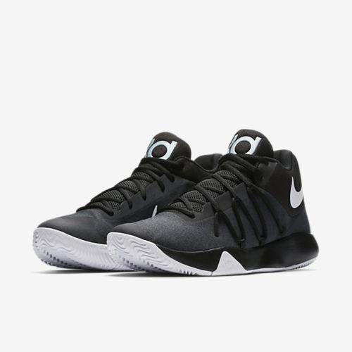 Men's Nike KD Trey V Black White Sizes 8-12 New In Box 897638-001