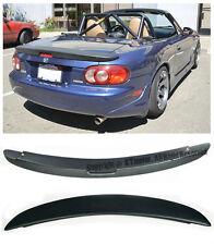 For 99-05 Mazda Miata NB MX5 MazdaSpeed MZ Style Rear Trunk Lip Wing Spoiler Kit