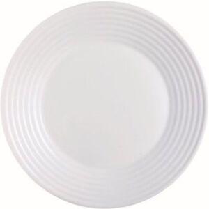 Luminarc-034-Harena-034-Colazione-Piatto-19cm-Vetro-Opale-Bianco-6-Pezzo-Dessert