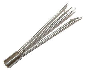 6-Barb-Cluster-Hand-Spear-Tip-6-034-barbs-1-2-034-Screw-Female-Screw-Thread