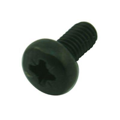 Pack of 30 Black Pozi Pan Head Screw M3 6mm
