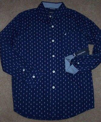 Boys Nautica $37.50 $39.50 Assorted Button Down Shirts Size 8-18//20