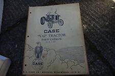 Case Vai Tractor Parts Manual Book Catalog Spare List Farm Owner R I D59 Vintage