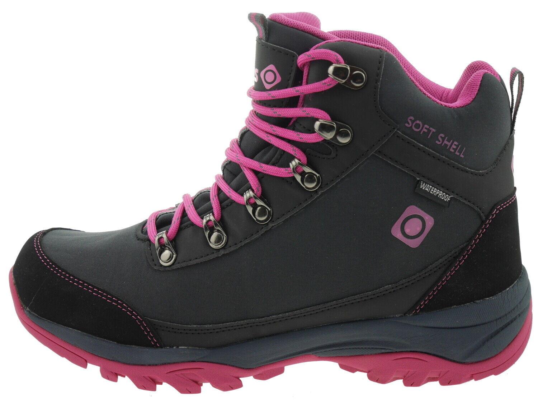 Izas Lezat outdoor botas fucsia negro 179304
