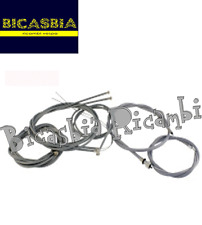 6866 CABLES ASSEMBLED GRAY WITH ODOMETER CABLE VESPA PX 125 DISC BRAKE
