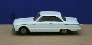 Hubley-Real-Toys-RT-330-Ford-Falcon-Diecast-Light-Blue-1-58-1960-Original-Exc