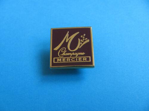 Enamel Champagne pin badge Square MERCIER VGC