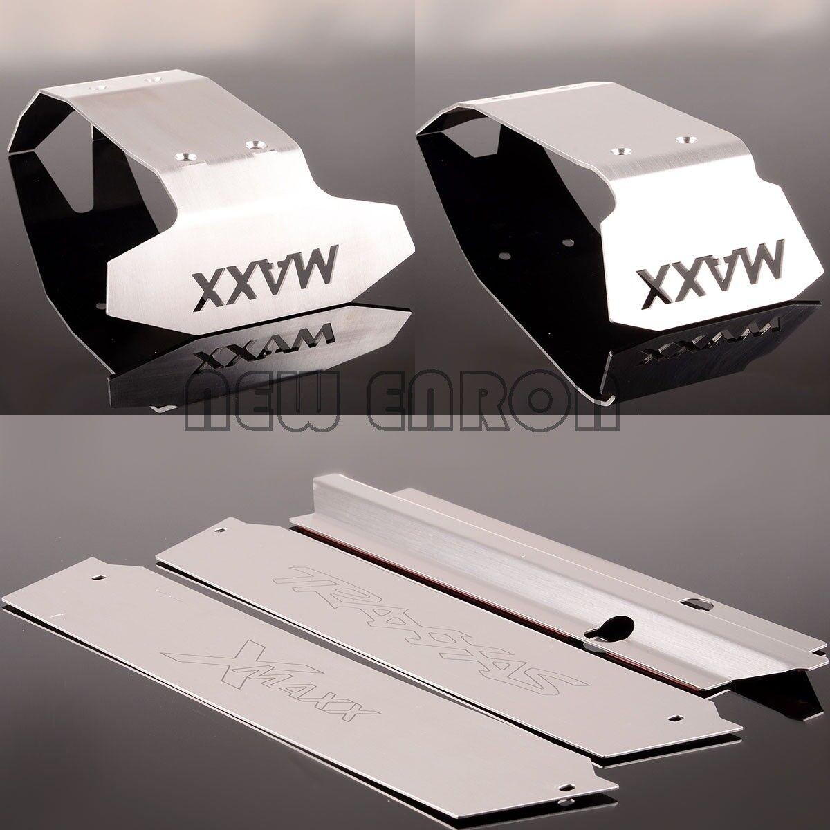 TELAIO in acciaio inox Armor  Anteriore e Posteriore Paramotore 1 5 Traxxas-Maxx XMAXX X  promozioni di sconto