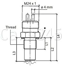 VDO 96016319 Speed Sensor 4L30E 1989-ON NON-US