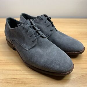 up-to-datestyling elegant shape yet not vulgar Details about Cole Haan Aerocraft Grand Plain Toe Oxford Men's Size 9.5  Magnet Suede C29813