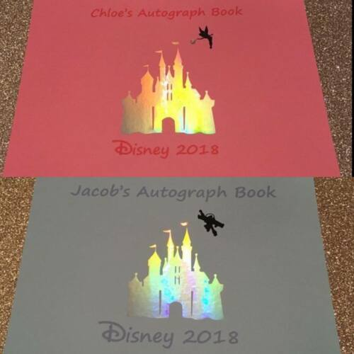 A5 Personalised Autograph Magical Memory Book Signature Buzz Disney Inspired
