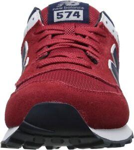Details about New Balance Men's ML574 Core Plus Pack Shoe, Red/Navy 13 D US/12.5 UK/47.5 EU