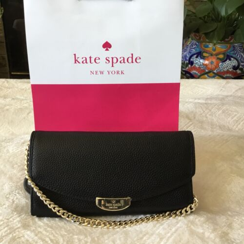 Street 98687187916 Wlru4872 Kate Wristlet Spade Handbag Kettengriff Schwarz Milou Mulberry wZtCp